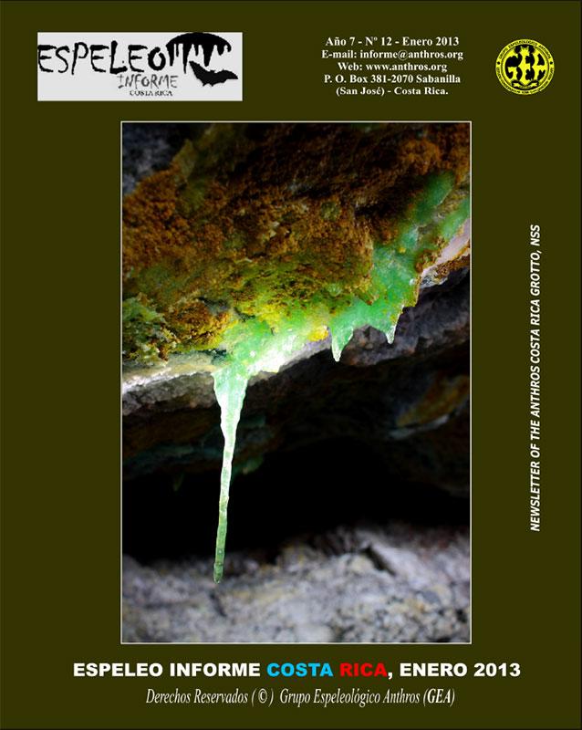 Espeleo Informe Costa Rica Vol.16