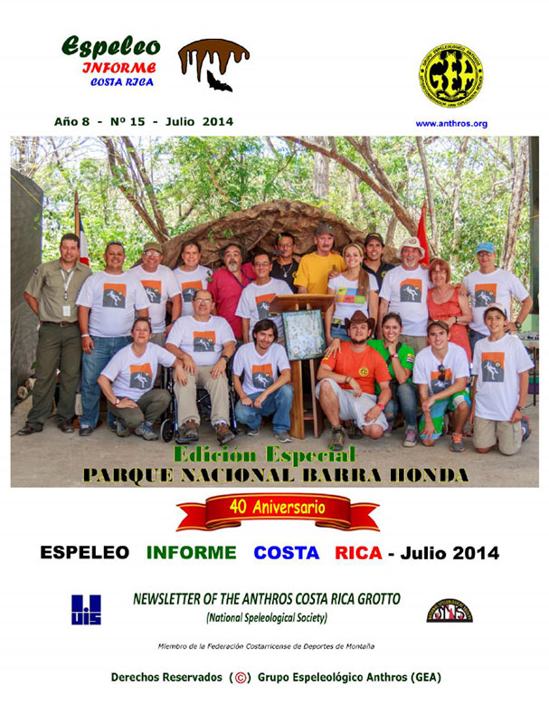 Espeleo Informe Costa Rica Vol.15