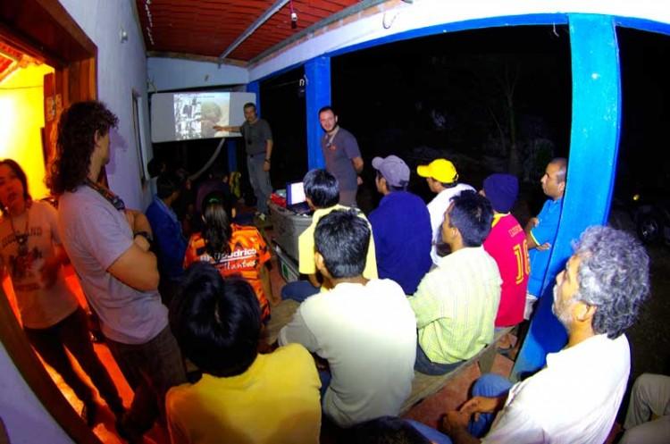 """Primeras noticias de la expedición """"Chiapas abril 2012"""""""
