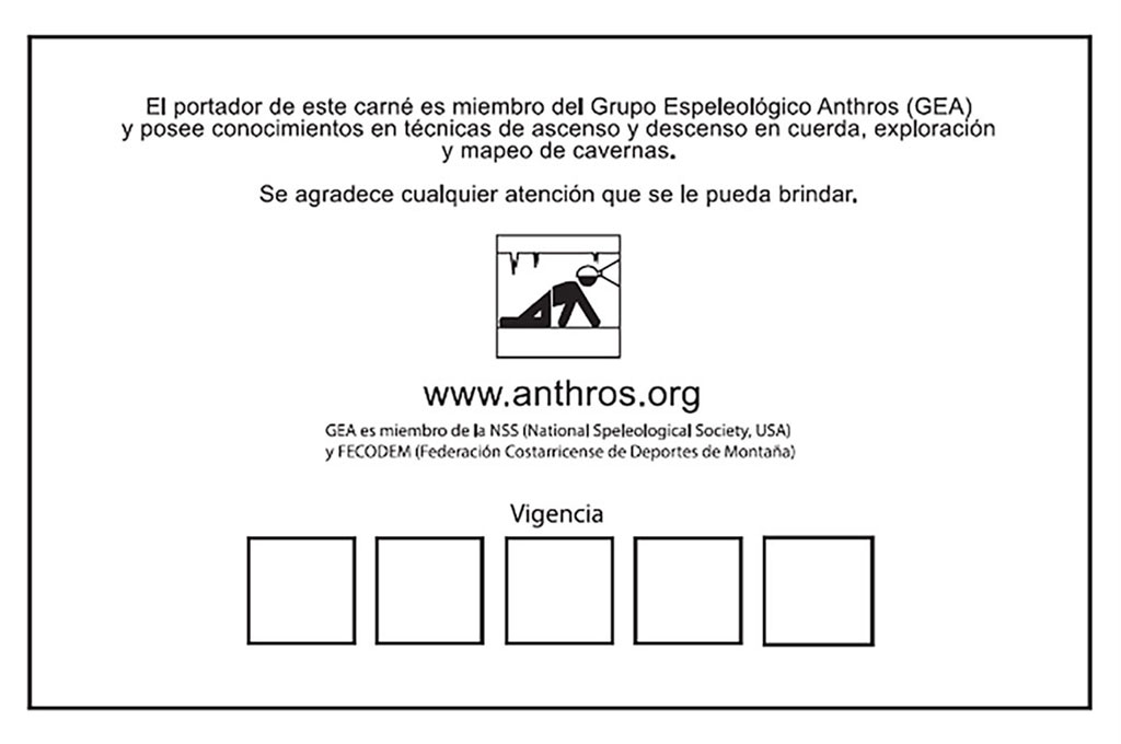 Anthros ID Card Back