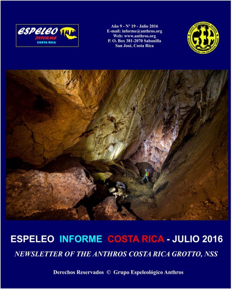 Espeleo Informe Costa Rica Vol.19