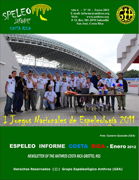 Espeleo Informe Costa Rica Vol.10
